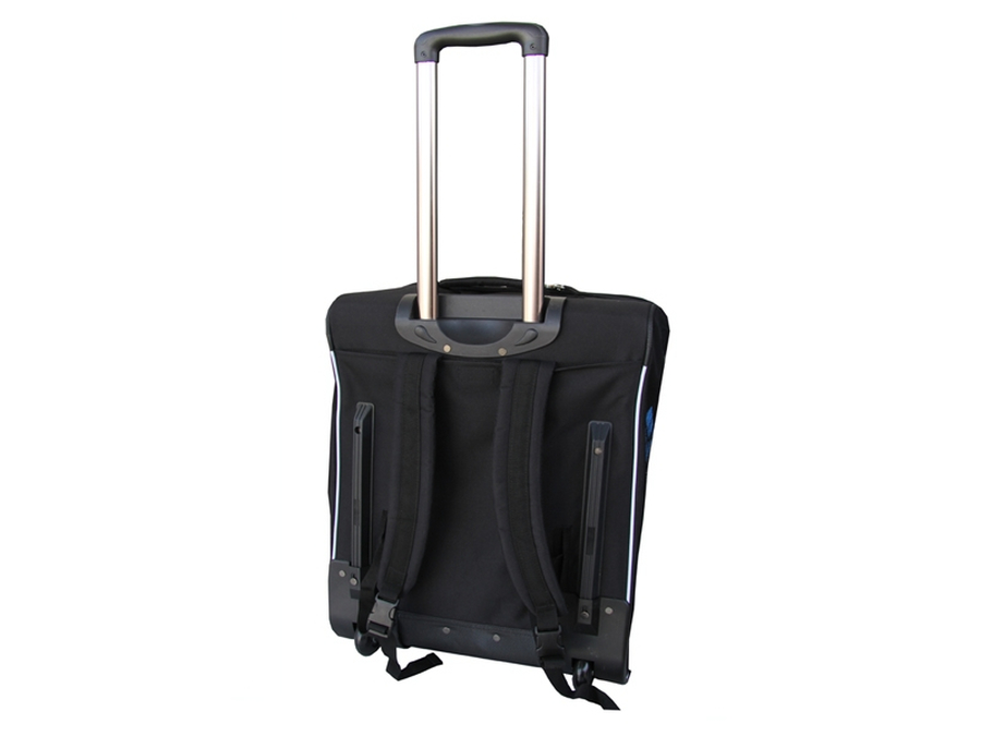 concept x trolley rucksack reisetasche mit rollen pro s 55 liter 7. Black Bedroom Furniture Sets. Home Design Ideas